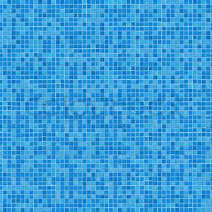 Blue Ceramic Mosaic Seamless Tileable Texture Stock