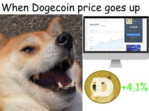 When Dogecoin Price is Up : dogecoin