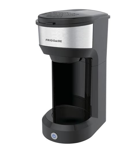 The 48 ounces coffee maker can serve 6 cups of coffee before refilling. Frigidaire K Cup Compatible Coffee Maker, Stainless, Black - Walmart.com - Walmart.com