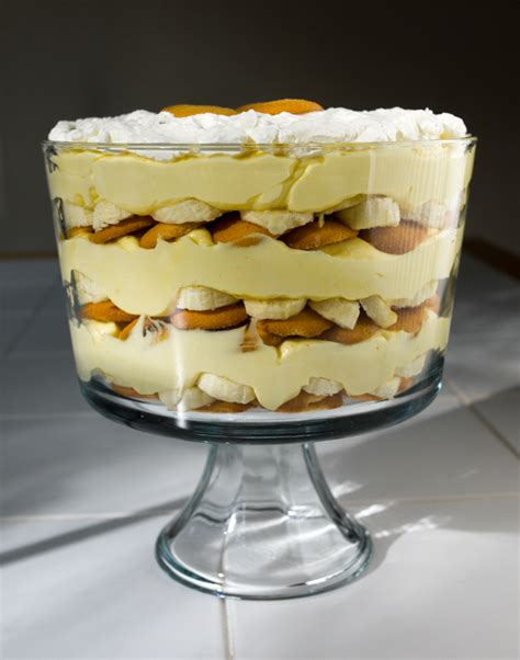 Layered Banana Pudding Trifle is decadent, and requires no