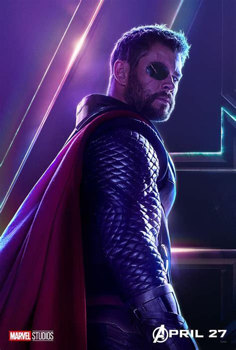 Image - Avengers Infinity War Thor Poster.jpg   Marvel ...