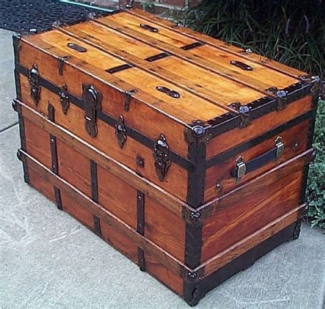 Large Bedroom Trunk by Refurbished Trunks 280 Trunks Trunks Chests Wooden