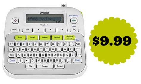 brother p touch label maker southern savers