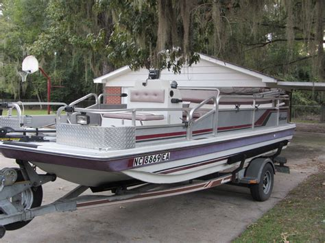 1993 Godfrey Hurricane Deck Boat by Godfrey Hurricane 1988 For Sale For 4 500 Boats From