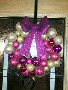 photo crafts ideas vintage pink ornament wreath knockoff ornament 2672