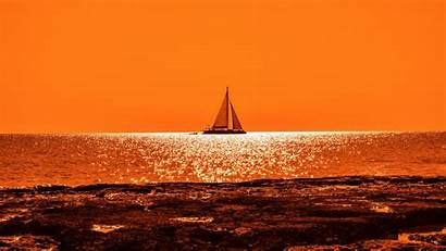 Sunset 4k Boat Sail Wallpapers 1080 1920