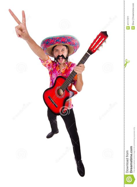 mexican guitar player stock image image  male disco