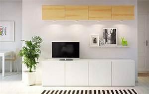 Meuble Blanc Laqué Ikea : meuble tv ikea blanc ~ Premium-room.com Idées de Décoration