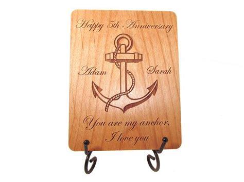 anchor anniversary card  year anniversary