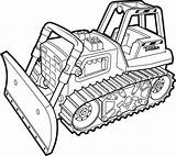 Coloring Bulldozer Pages Monster Excavator Construction Truck Drawing Tonka Colouring Tractor Mohawk Sheets Clipart Warrior Clip Printable Dozer Worker Bull sketch template
