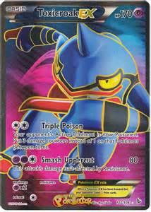 Mega Toxicroak Pokemon Card Ex