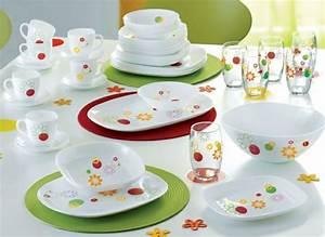 Service De Vaisselle : service de table luminarc ~ Voncanada.com Idées de Décoration