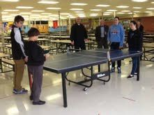 donate ping pong table arrowhead schools generous donations