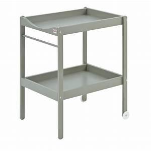 Table A Langer Design : table langer alice laqu gris clair combelle pour ~ Teatrodelosmanantiales.com Idées de Décoration