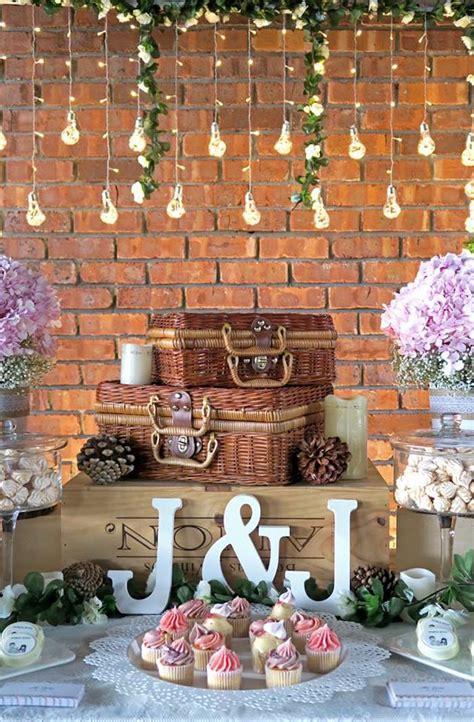 Kara's Party Ideas Rustic Romantic Wedding  Kara's Party