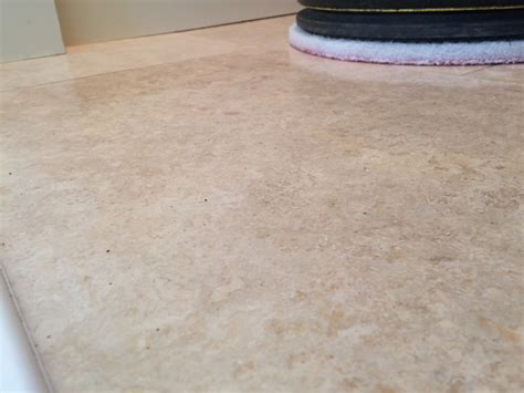 polishing and sealing travertine tiles in blackburn tile