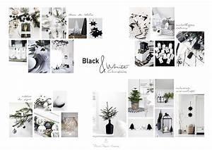 Noel Noir Et Blanc : d co de no l en noir et blanc look scandinave minimaliste pierre papier ciseaux ~ Melissatoandfro.com Idées de Décoration