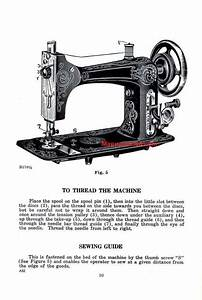 Eldredge I E B Sewing Machine Instruction Manual