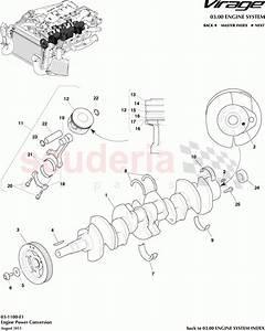 Aston Martin Virage Engine Power Conversion Parts