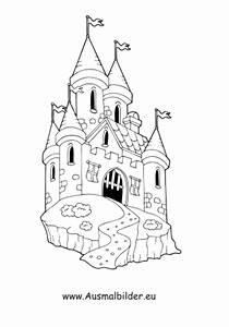 Ausmalbilder Burg Gebude Malvorlagen Ausmalen
