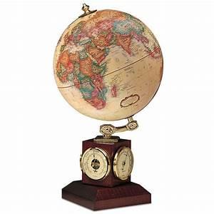 Globe Terrestre Bois : replogle globe terrestre avec station m t orologique ~ Teatrodelosmanantiales.com Idées de Décoration