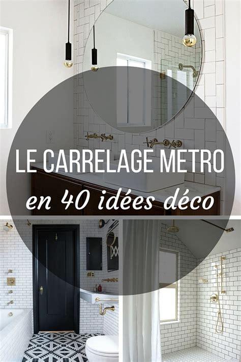 credence originale pour cuisine le carrelage metro en 40 idées déco