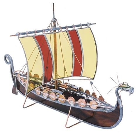 Viking Longboat Model by Models Gallery