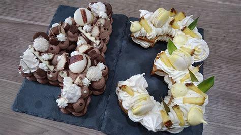 Chocolat au lait, chocolat blanc, chocolat au lait & praliné noisette. Number cake au chocolat - Un Délice de Cacahuètes