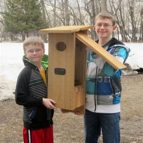 nestbox plans  large birds