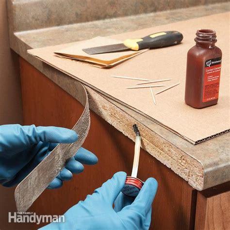 laminate repair tips reglue laminate the family