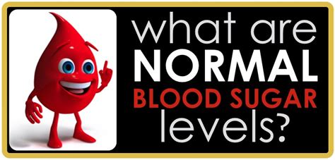 normal blood sugar levels diabetes daily