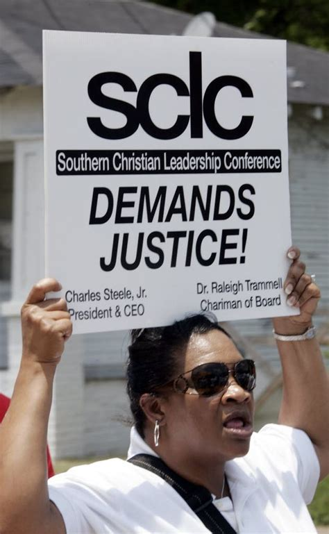 southern christian leadership conference members seek
