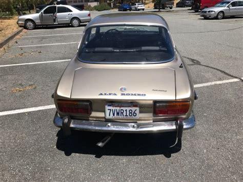 """1972 Alfa Romeo """"california Owned"""""""