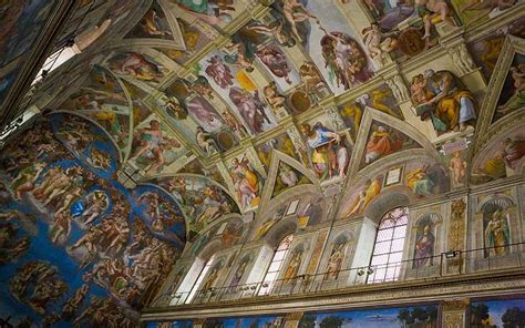 Painted The Ceiling Of The Sistine Chapel In Rome by Rome S Sistine Chapel 50 Fascinating Facts Telegraph