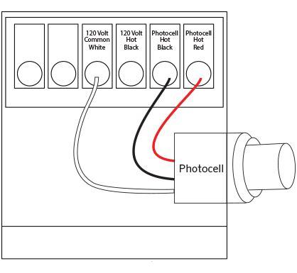 Photocell Installation Luminaire