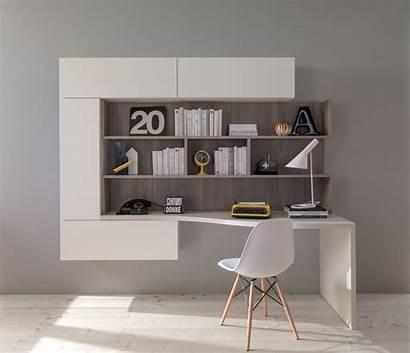 Studio Angolo Ikea Soggiorno Libreria Mobile Scrivanie
