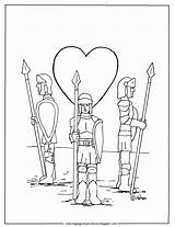 Coloring Guard Heart Printable Adron Mr Always Ll sketch template