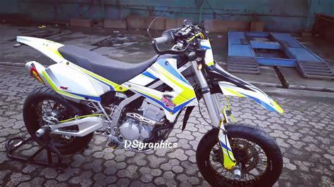 Klx 250 Modifikasi Motocross by Top Modifikasi Motor Enduro Terbaru Modifikasi Motor