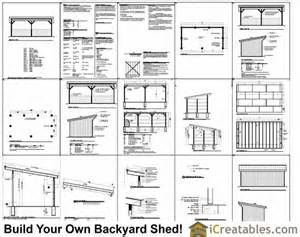 12x24 shed plans image search results