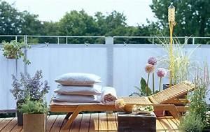 balkonpflanzen tipps fur jeden balkon schoner wohnen With markise balkon mit tapete wellness