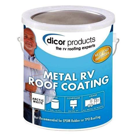 Dicor® RP-MRC-1 - 1 Gallon Elastomeric Coating - CAMPERiD.com