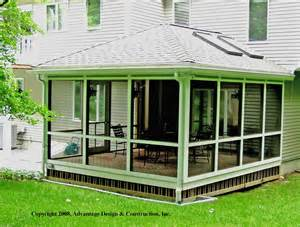 3 Key Feature Super Sunroom Suburban Boston Deck Hip Roof Porch Benefits