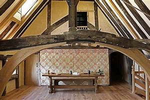 Medieval Style Oak Trestle Table Bench In C14th Hall House