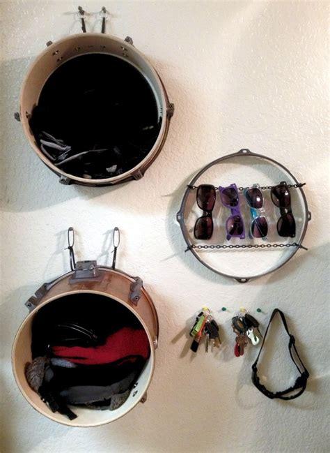 part    drum set  shelves  organize