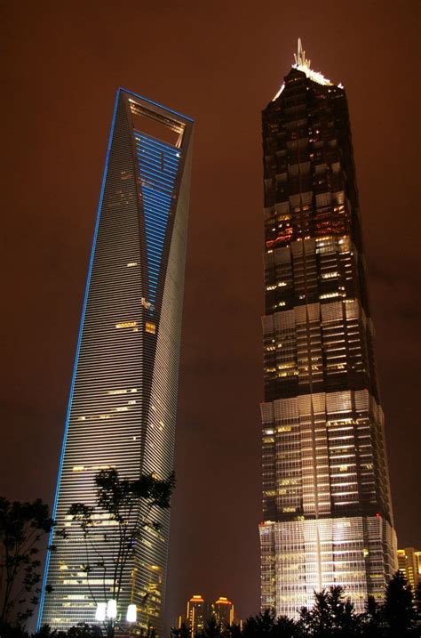 Tallest Buildings The World Shanghai