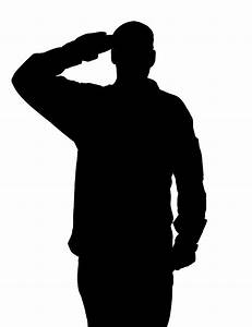 Image Gallery salute silhouette