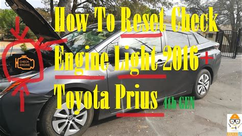 ️How To Reset Check Engine Light on 2016 2017 2018 Toyota