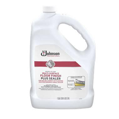 Floor Finish  Sc Johnson Professional®