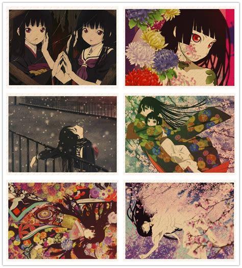 jigoku shoujo enma ai ichimoku ren japanese anime poster