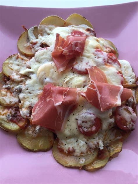 recette de la pate de pizza pizza sans p 226 te 224 base de pomme de terre et sa cuisine gourmande et l 233 g 232 re